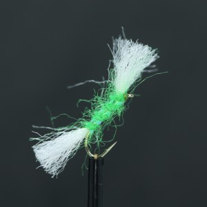 Black Quill Holo Green Ceeks Cruncher Barbless