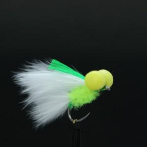 Green Splat Cat Booby Barbless