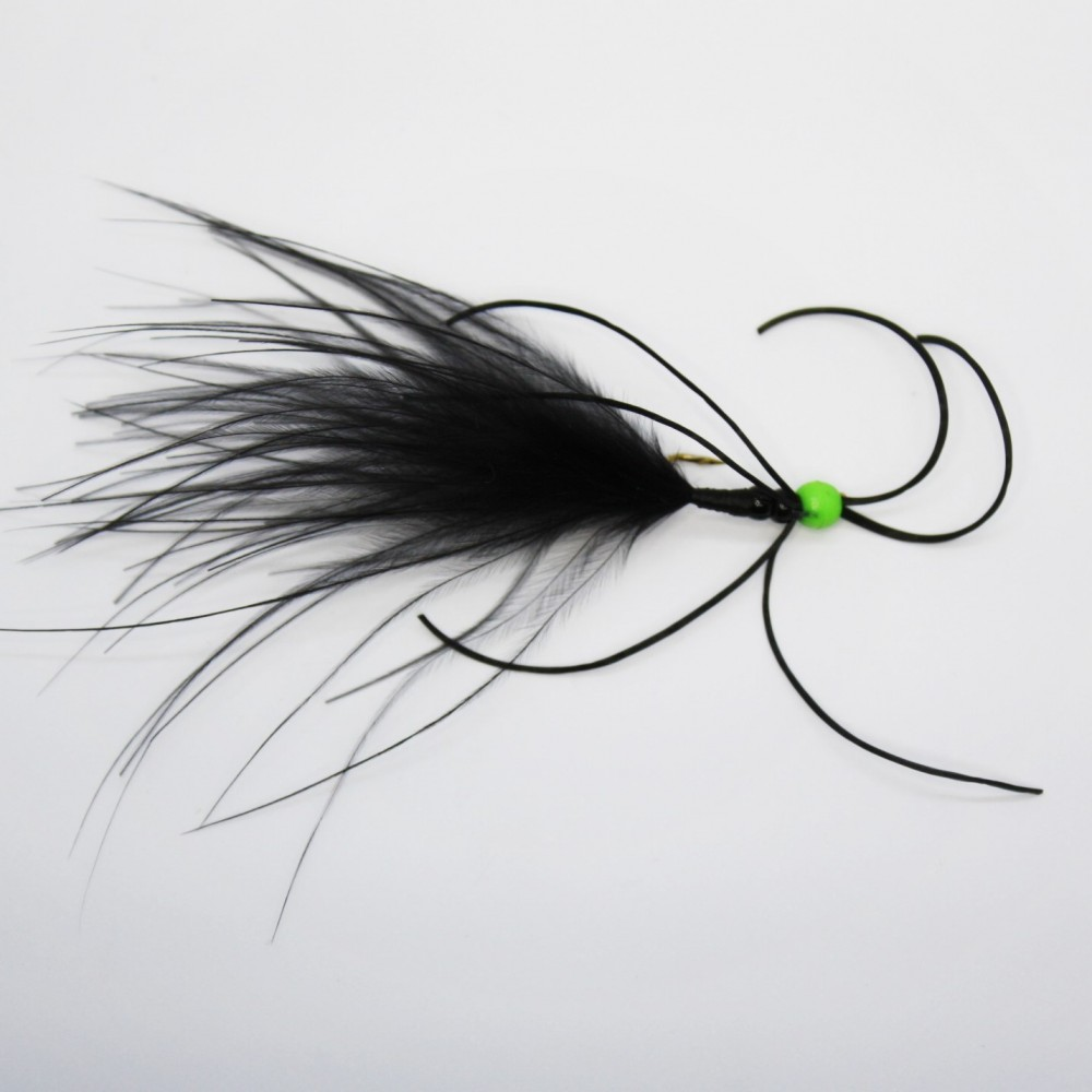 Black/Green Critter Worm