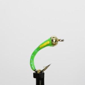 Gold Head Fluo Green Buzzer