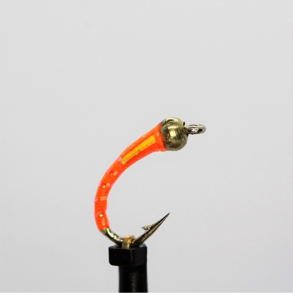 Gold Head Fluo Orange Buzzer