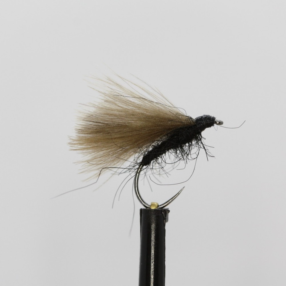 Black CDC F Fly Barbless
