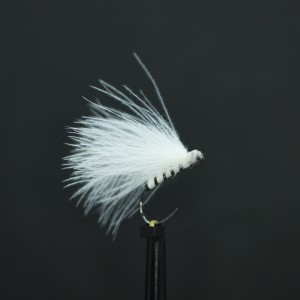 Ian's Pearly Fiery Brown Emerger Buzzer Size 14