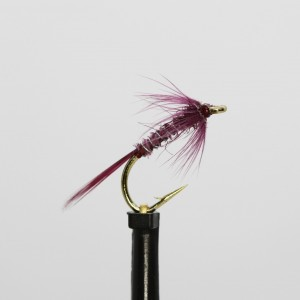 4 V Fly Pearl Pink Devil Nomad Size 10 Trout Lures