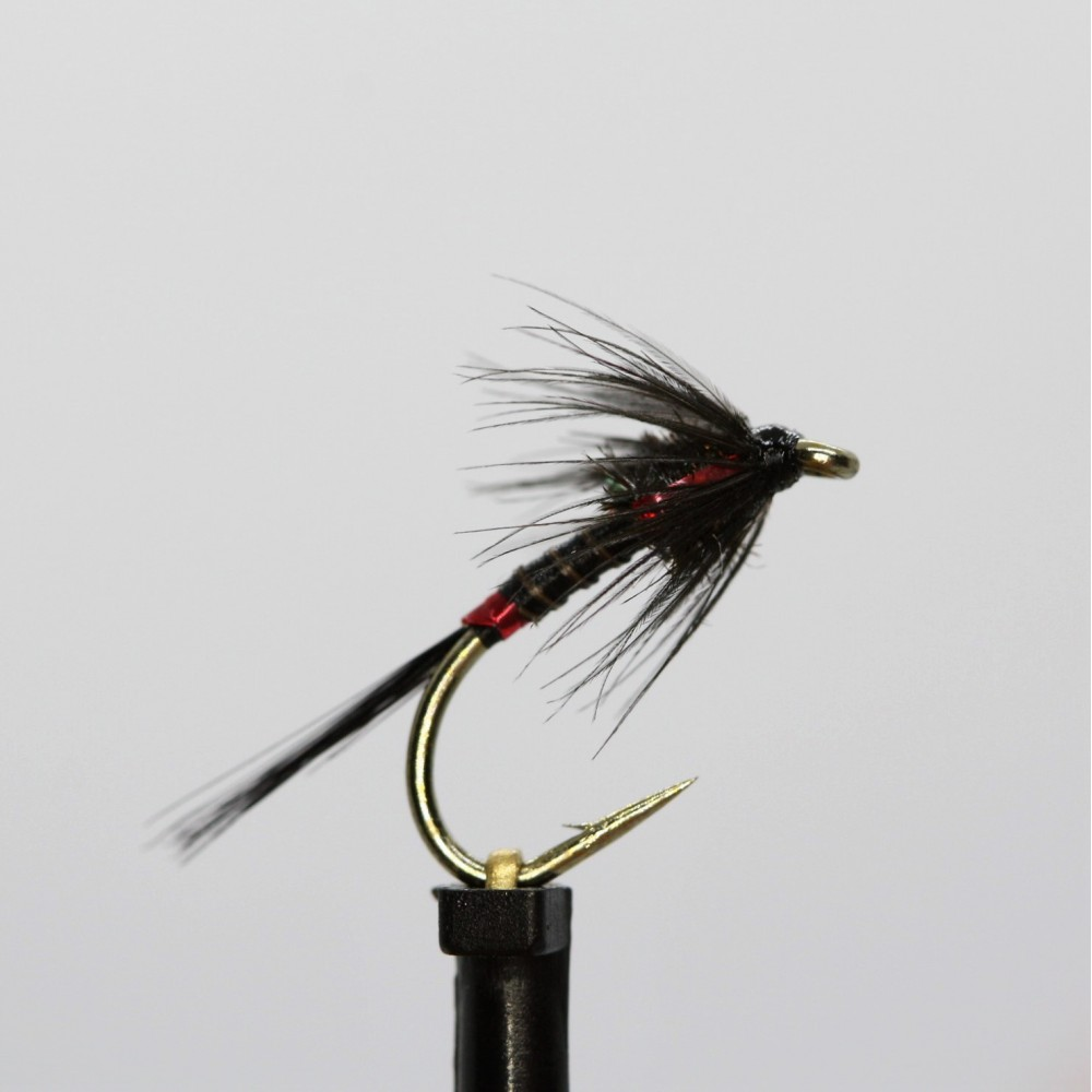 Ians Black Cruncher Quill Holo Red