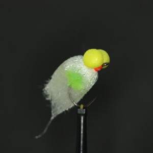 White Pulse Booby Barbless