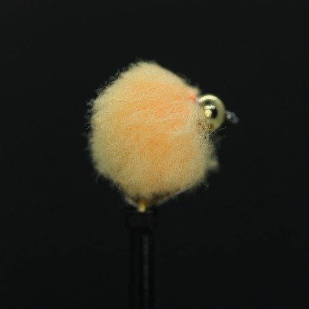 Gold Head Grizzle White Dancer - Size 10 L/S
