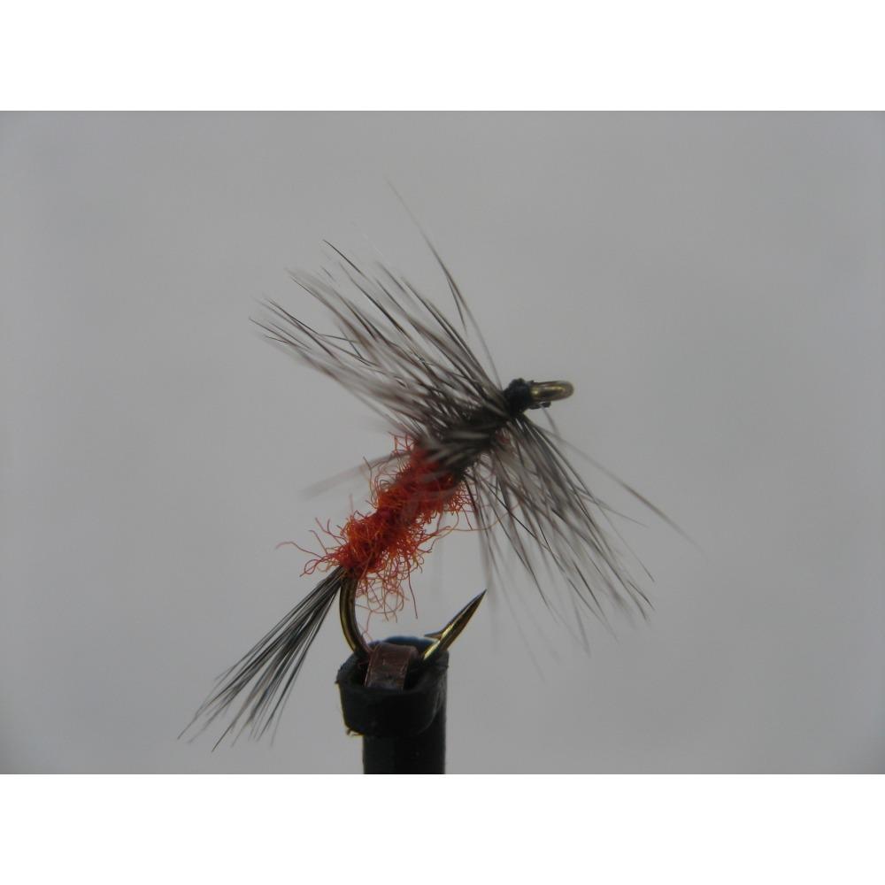 Dry Grey Hen & Rusty Size 14