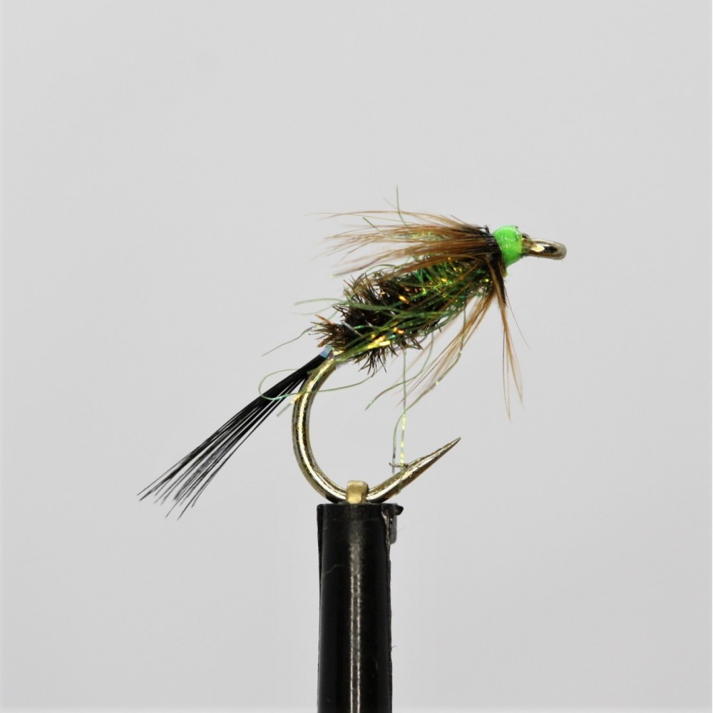 Adams Irresistible Dry Barbless Size 12