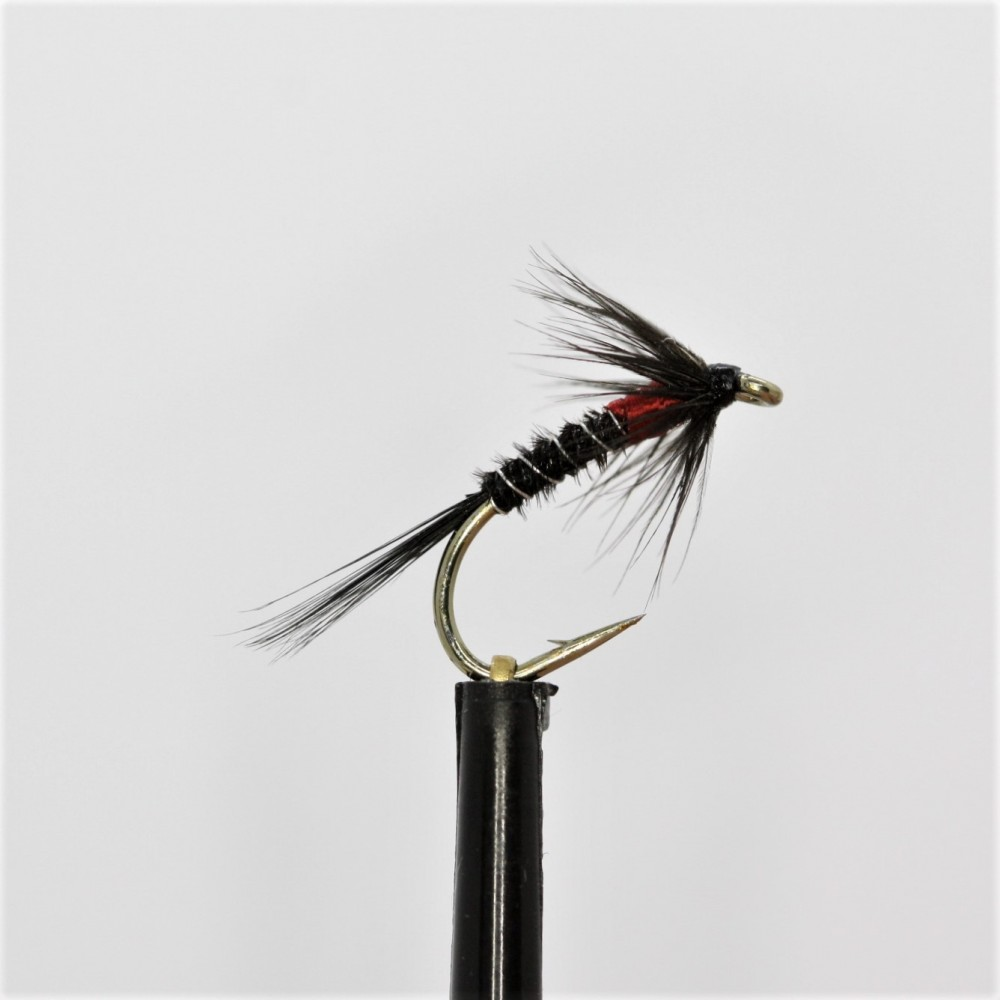 Black Red Floss Thorax Cruncher