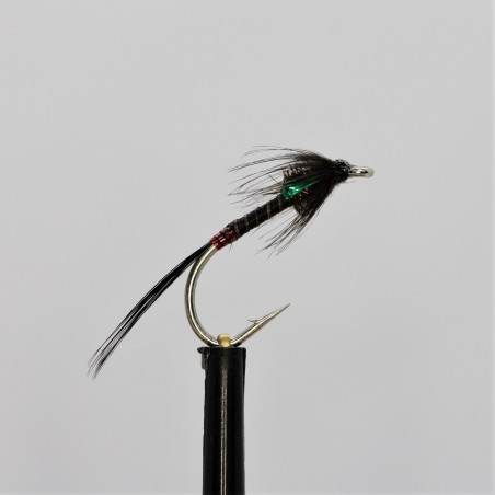Black Gnat Para Dry Barbless