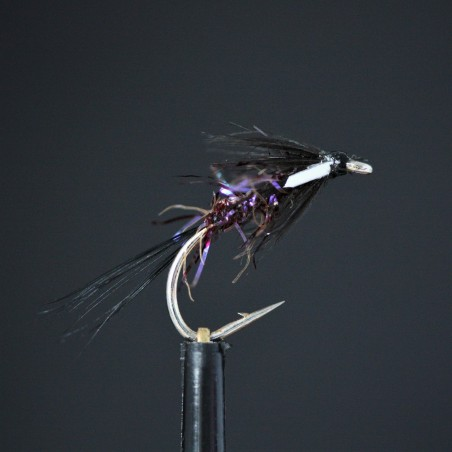 Black Spider Dry Barbless