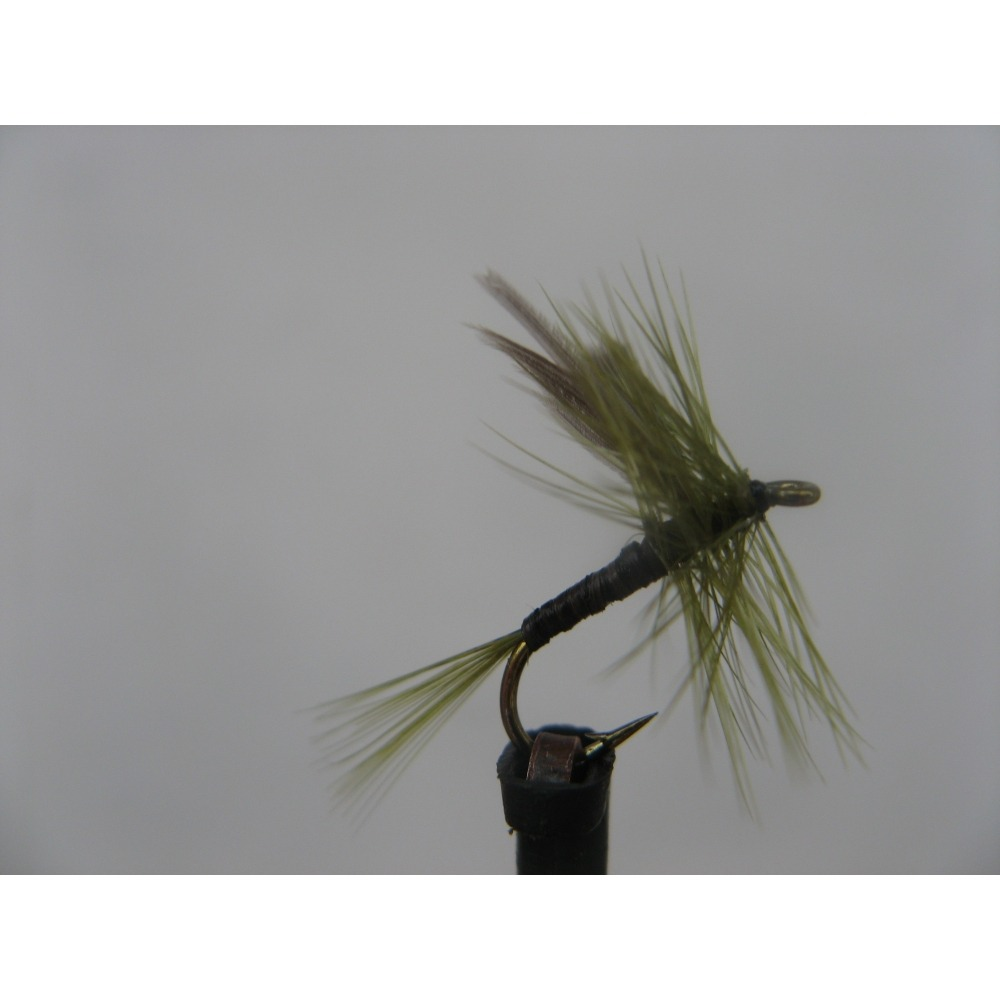 Dry Olive Quill Size 14
