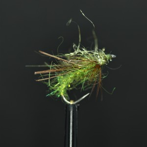 Olive Midas Dry - Barbless