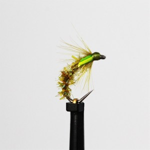 Ian's Pearly Olive Emerger...
