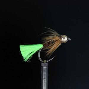 Gold Head Fl Green Tail...