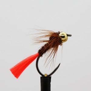 Gold Head Fl Orange Tail...