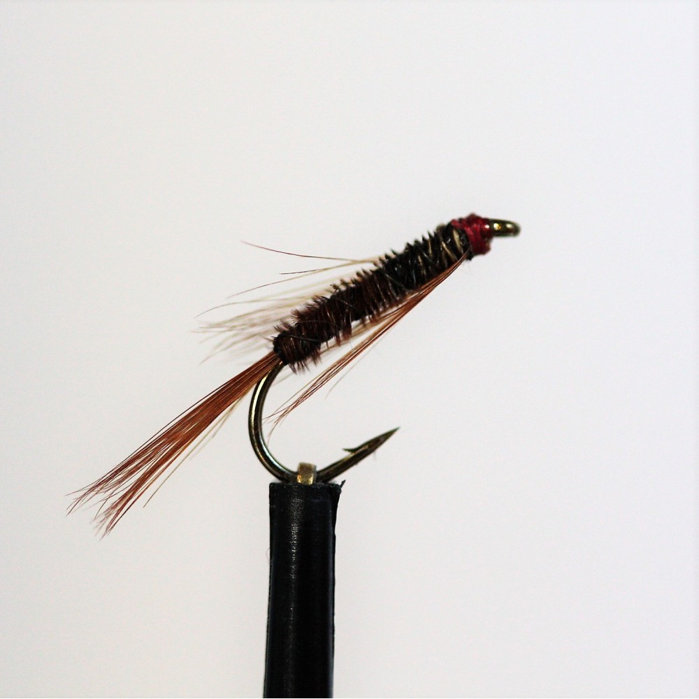 DIAWL BACH ORANGE NYMPH Wet Trout Fishing Flies various options