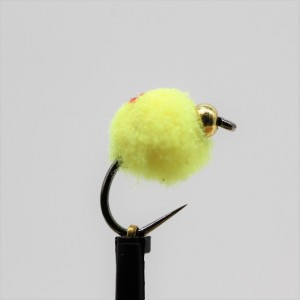 Gold Head Yellow Egg Barbless