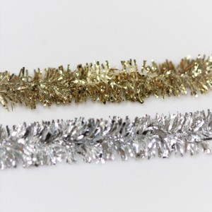 Gold and Silver Chenille - 6mm