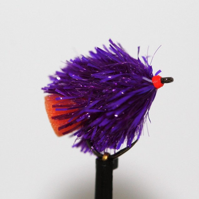 Purple T15, Orange FAB Barbless