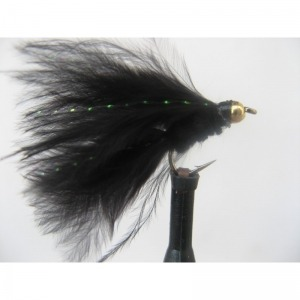 Goldhead 6 Pack,Size 10 Hook Cats Whisker Zonkers Fishing flies Trout Flies