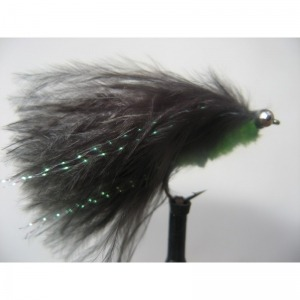 Cats Whisker Lime/Black Size 10 L/S