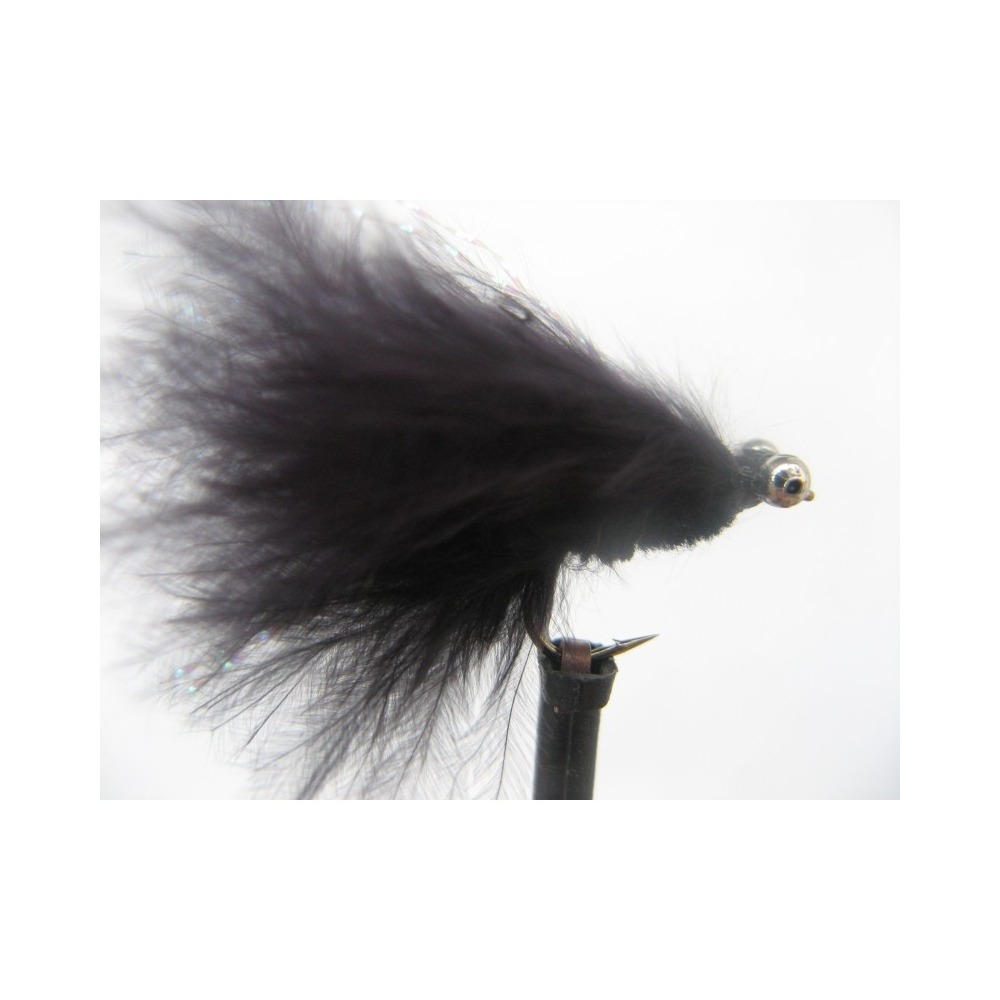 Cats Whisker Mini Black Size 12