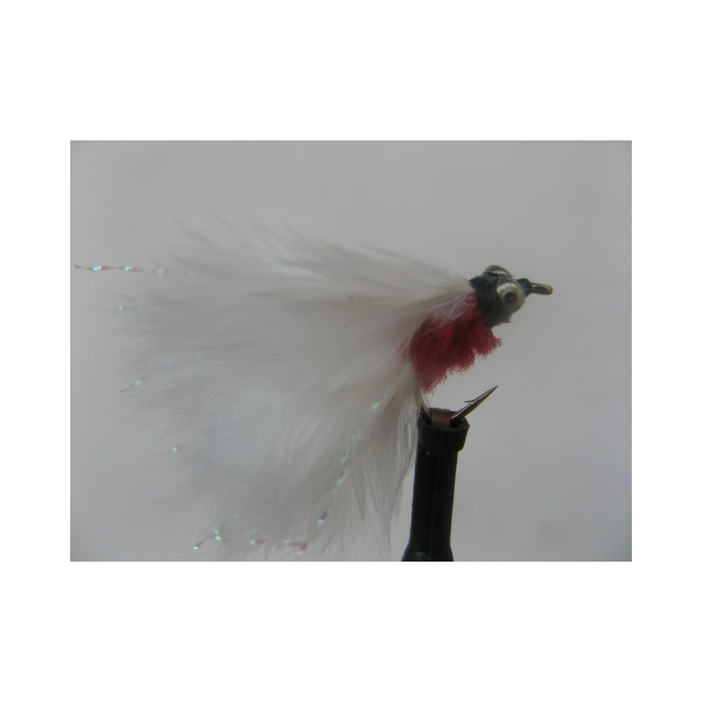 Cats Whisker Mini Red/White Size 12