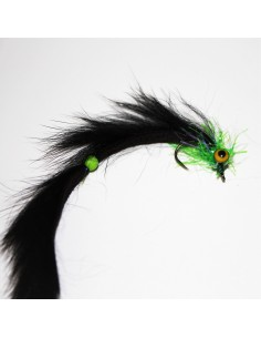 UV Green Black Bunny Leech...