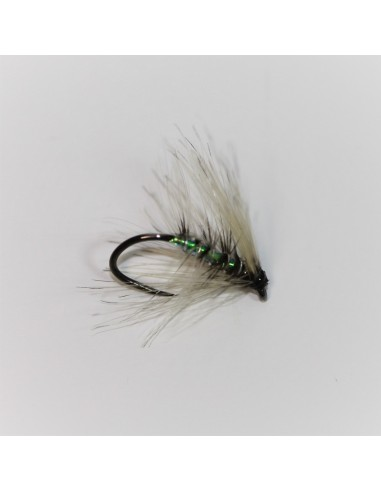 Pearly Ghost Wet Fly Barbless