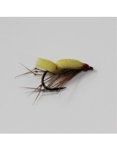 Yellow Flat Daddy - Barbless