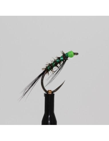 Black, Green Glow Head Diawl Bach...