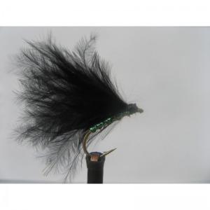 Damsel Hot Head Green Black Std. Size 10