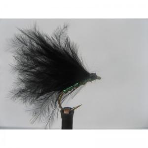 Damsel Hot Head Green Black Std. Size 10