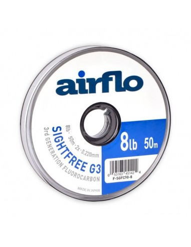 50M Airflo G3 Sightfree Fluorocarbon