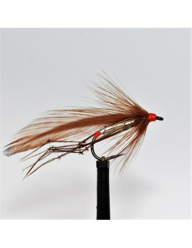 Red Arsed Silver Daddy Barbless