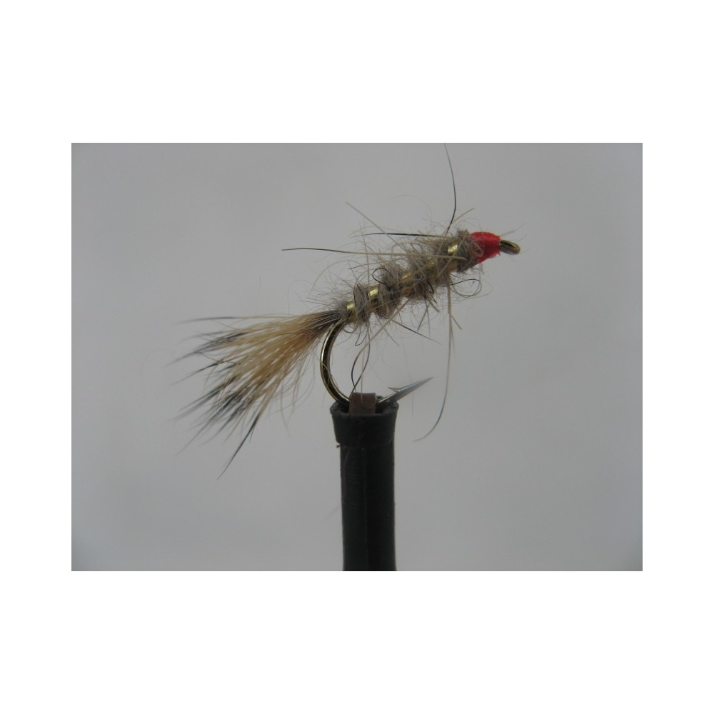 Hares Ear Red Head Size 12
