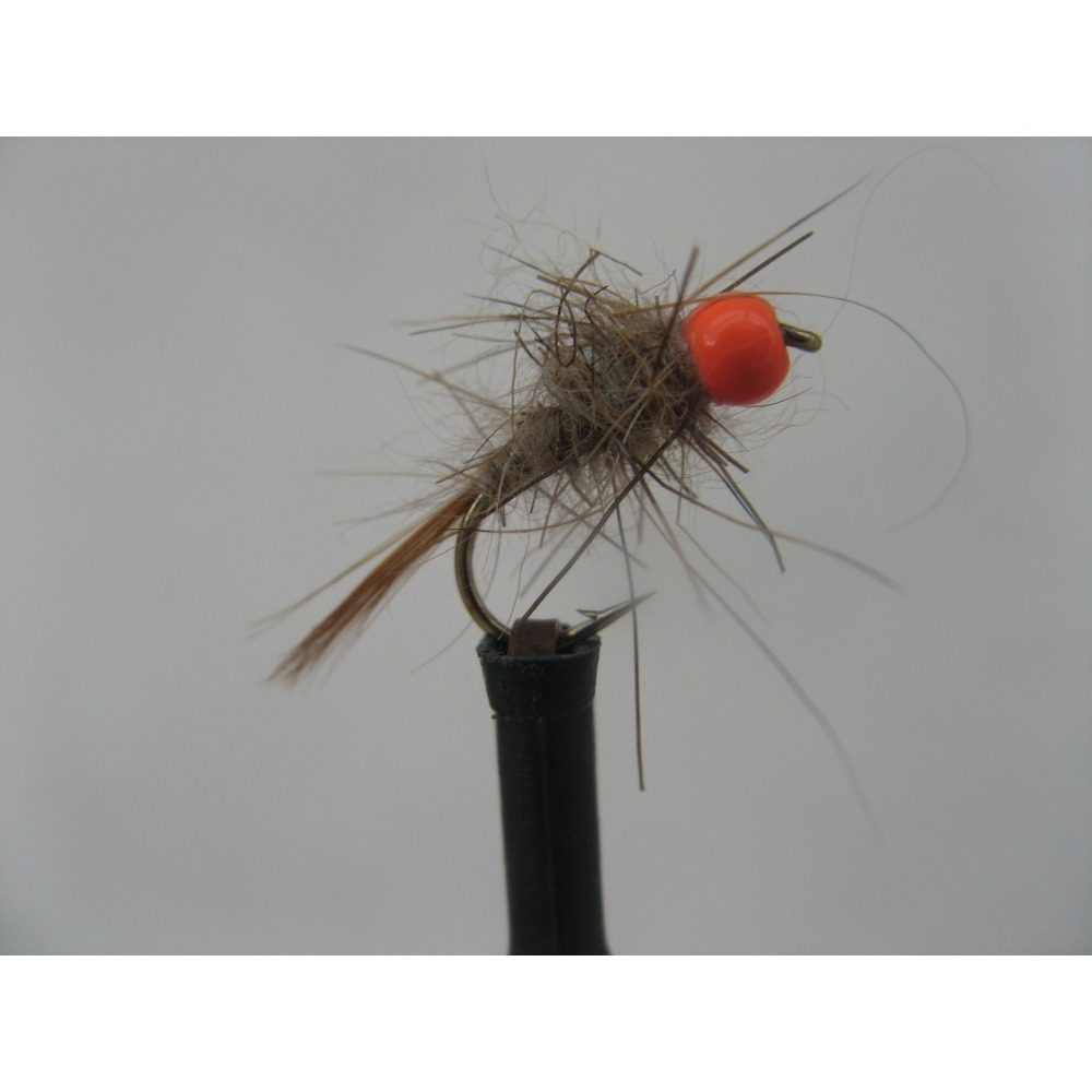 Hothead Orange Hares Ear Size 12