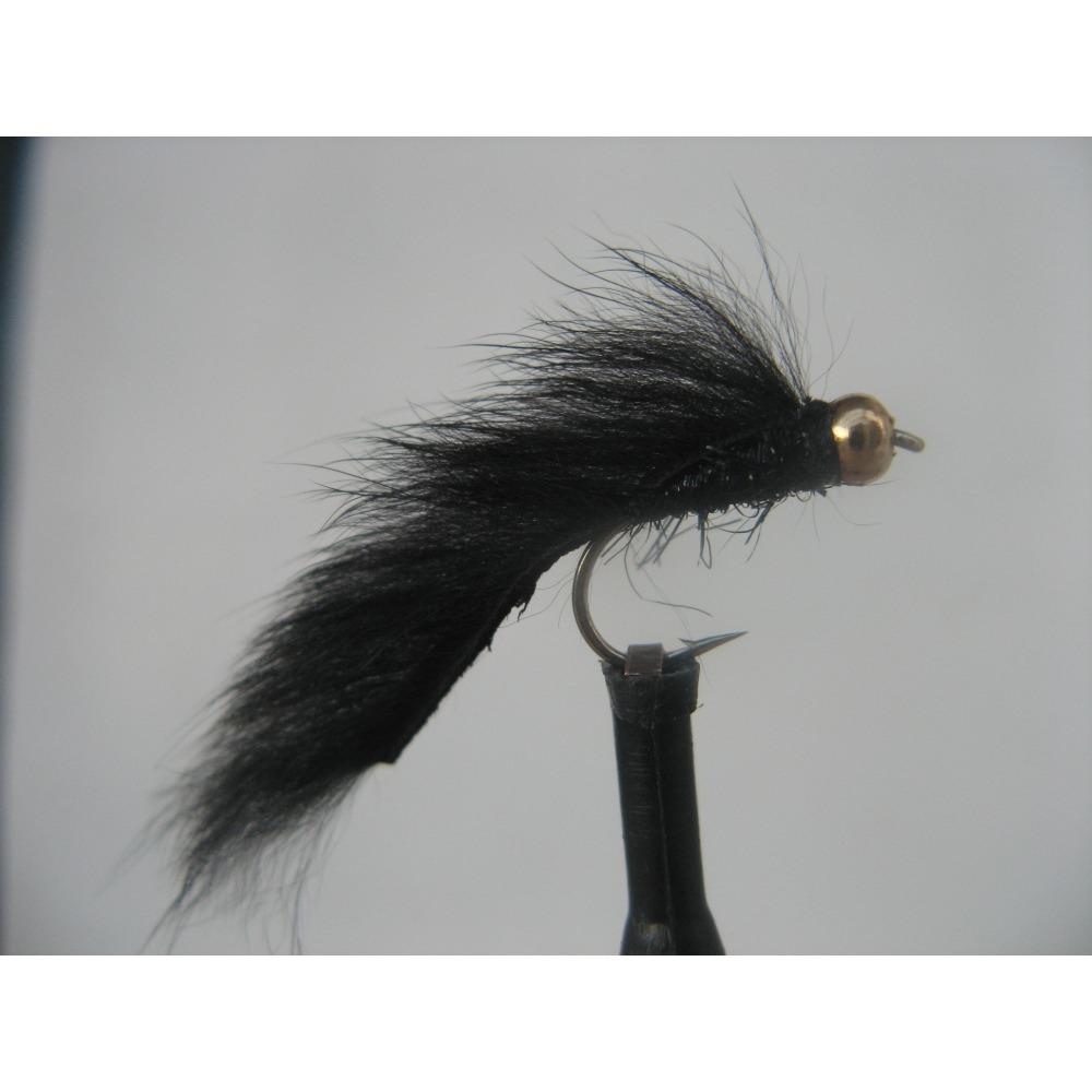 Goldhead Pine Squirrel Mini Zonker Black