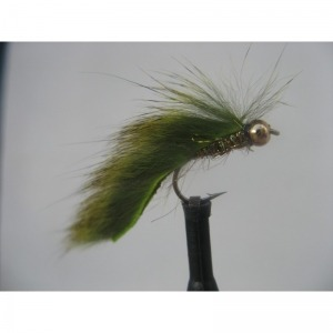 Goldhead Pine Squirrel Mini Zonker Olive