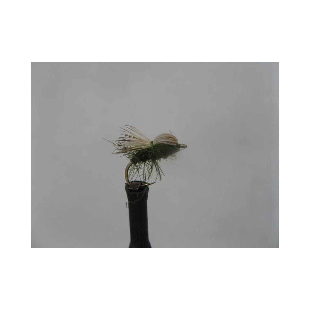 Elk Hair Bullet Olive size 14